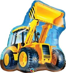 "32"" Construction Loader Shape Foil Balloon"