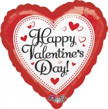 "28"" HVD Simply Traditional Jumbo Foil Balloon"