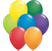 "5"" Carnival Assortment Latex Balloons - 100ct"