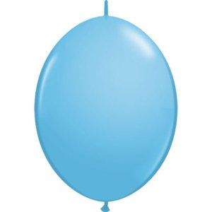 "12"" Pale Blue QuickLink Latex Balloons - 50ct"