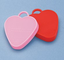 Heavy Weights/Red&Pink Hearts (10ct)