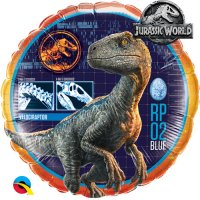 "18"" Jurassic World Raptor Foil Balloon - Pkg"