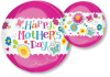 "15"" Happy Mother's Day Orbz Foil Balloon"