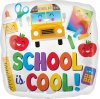 "18"" Colorful School is Cool Foil Balloon - Unpkg"