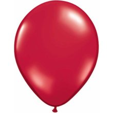"5"" Ruby Red Latex Balloons - 100ct"