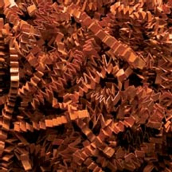 Crinkle Shred-Copper - Click Image to Close