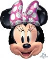 "21"" x 26"" Minnie Mouse Forever Foil Balloon - Pkg"