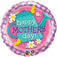 "18"" Mother's Day Watering Can Foil Balloon - Unpkg"