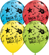 "11"" Rock And Roll Stars Latex Balloons - 50ct"