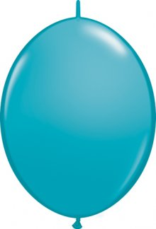 "6"" Tropical Teal QuickLink Latex Balloons - 50ct"