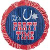 "18"" Bandana & Blue Jeans ""It's Party Time"" Foil Balloon - Pkg"