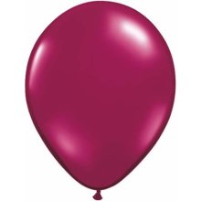 "5"" Sparkling Burgundy Latex Balloons - 100ct"