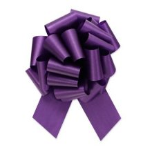 "4"" Purple Pull-String Bow"