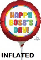 "9"" Satin Boss's Day Pre-Inflated Foil Balloon - 1ct"