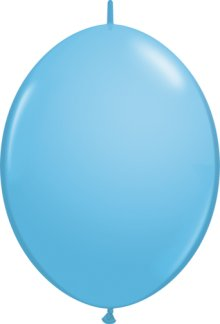 "6"" Pale Blue QuickLink Latex Balloons - 50ct"