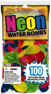 Neon Water Bomb Balloons - 100 ct