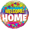 "18"" Welcome Home Pennants Foil Balloon - Pkg"