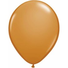 "16"" Mocha Brown Latex Balloons - 50ct"