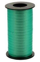 "Emerald Green Wide Crimped Curling Ribbon - 3/8"" x 250yds"