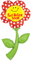 5ft FreshPicks Feel Better Soon Foil Balloon