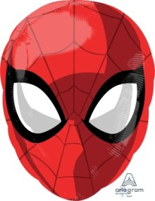"12"" x 17"" Spider-Man Animated JrShape Foil Balloon - Pkg"
