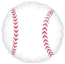 "17"" Baseball Foil Balloon - Unpkg"