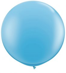 3ft Pale Blue Latex Balloon - 2ct