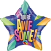 "20"" You're Awesome! Radiant Star Foil Balloon"
