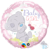 "18"" Tiny Tatty Teddy Baby Girl Foil Balloon - Pkg"