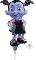 Vampirina Mini Shape Air-Fill Foil Balloon