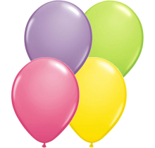 "11"" Spring Assortment Latex Balloons - 100ct"