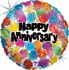 "18"" Party Anniversary Foil Balloon - Pkg"
