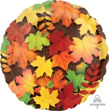"18"" Colorful Leaves Foil Balloon"