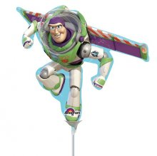 Toy Story Buzz Lightyear Mini Shape Air-Fill Foil Balloon