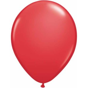 "11"" Red Latex Balloons - 100ct"