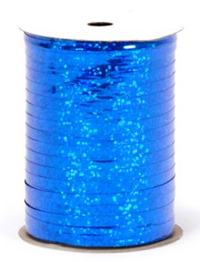"Royal Blue Holographic Curling Ribbon - 3/16"" x 100yds"