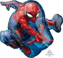 "17"" x 29"" Spider-Man Animated SuperShape Foil Balloon - Pkg"