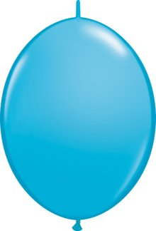"6"" Robin's Egg Blue QuickLink Latex Balloons - 50ct"