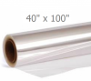 "Clear Cello Roll 40""x100'"