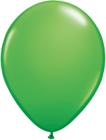 "11"" Spring Green Latex Balloons - 100ct"
