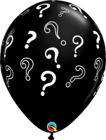 "16"" Question Marks Latex Balloons - 50ct"