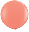 3ft Coral Latex Balloon - 2ct