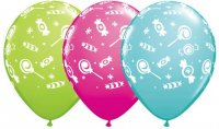 "11"" Candies-A-Round Latex Balloons - 50ct"