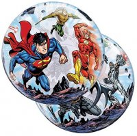 "22"" Justice League Super Heroes Bubble Balloon"