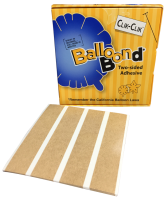 Balloon Bond Adhesive Strips - 0.8in x 90ft