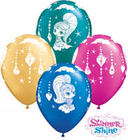 "11"" Shimmer and Shine Sparkles Latex Balloons - 25ct"