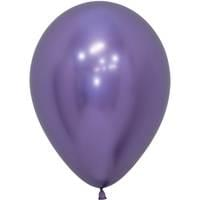 "5"" Reflex Violet Latex Balloons - 100ct"